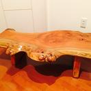 天然木1枚板 ローテーブル