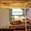 IKEAのベッドとマットレス、シーツなど一式