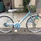 子供用自転車 22インチ 水色