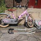 a.n.d デザイン16インチ自転車