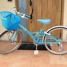 女の子向け22インチ自転車