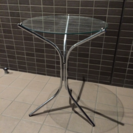 天板ガラス 丸テーブル