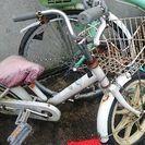 ♥子供用自転車 吹上鴻巣  幼児用 空気はぬけてます。