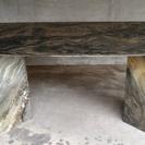 《値下げしました》イタリア製 天然大理石ダイニングテーブル
