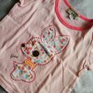 バンビtシャツ 80