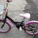 20 インチ女児用ハート自転車