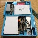 Wiiゲーム機とWiiフィットのセット