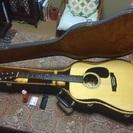 モーリス ギター W-18  ハードケース付きで‼︎