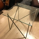 【実用良品】テンプルガラス サイドテーブル コーナー 化粧品 小物...
