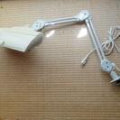 デスクライト ツインバード 蛍光灯スタンド 照明 机に挟むタイプ ...