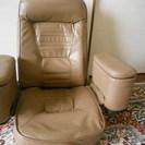 回転式リクライニング座椅子