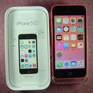 ドコモ iPhone5C 16GB ピンク 美品 白ロム 本体