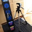■SLIK U6600 スリック カメラ・ビデオ 三脚■美品!