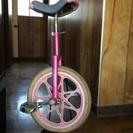 スタンド付き一輪車