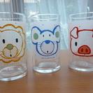 グラス 3個 中古品