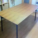 鉄脚 ダイニングテーブル(只今取引中の為、受付停めてます)