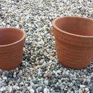 小さな植木鉢 1つ