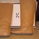 KOOS ブーツ キャメル サイズ38