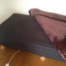 黒 シングルベッド