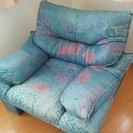 イタリア製布製ソファー