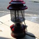 赤のコールマン286ランタン(自作メッシュグローブ)貴重美品