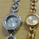 (美品)レディース ファッション時計2つセット。