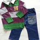 ★☆nu90☆★ラガーシャツ&長ズボン