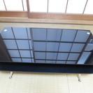 黒いガラステーブル(5月8日(日)引取り可能な方)