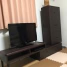【再値下げしました!!】ビーカンパニー購入 スライド式 テレビ台 ...