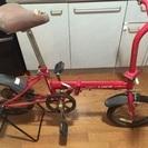 折りたたみ自転車 ミニベロ お譲りします