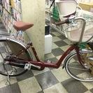 [3008]ブリヂストン アンジェリーノ 子供乗せ自転車 26×2...