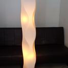 終了しました 照明スタンド(2燈タイプ) ランプ付きです お部屋の...