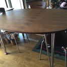 ダイニングウッドテーブル&椅子4脚set