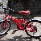 JEEP 18インチ 子供用自転車です。110cm以上。補助輪付き。