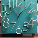 美品!珍しい3Dウォールロック インテリア カフェ風 掛時計
