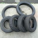 原付の廃タイヤ