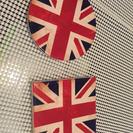 英国風 コースター 2個セット