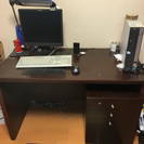 書斎机 あげます