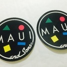 Maui and Sonsのステッカー