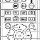 新品 【ONKYO】リモコン RC-872 (NFR-7 用)