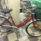 [2641]中古自転車 リサイクル自転車 シティサイクル ママチャ...