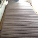 【フランスベッド】折りたたみスプリングマットレス