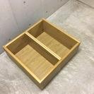 木製棚 2個