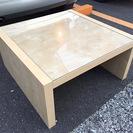 イケア EXPEDIT コーヒーテーブル 美品 ナチュラル IKEA