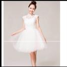 ミニウェディングドレス