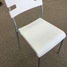 椅子 IKEA LAVER ホワイト 2点