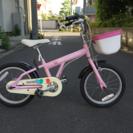 子供用自転車 ビアンキ バンビーノ16インチピンク