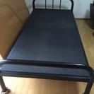 シングルサイズパイプベッド