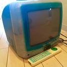 ジャンク 初期iMac型 ブラウン管 テレビ