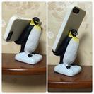ペンギン★スマホ 携帯 スタンド